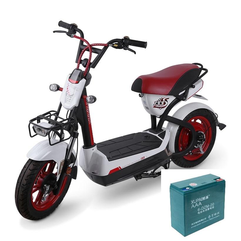 Tuổi thọ ắc quy xe máy điện ?