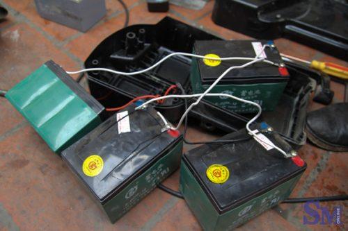 Hiện tượng ắc quy xe đạp điện bị phồng rộp