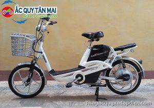 Thay ắc quy xe đạp điện yamaha