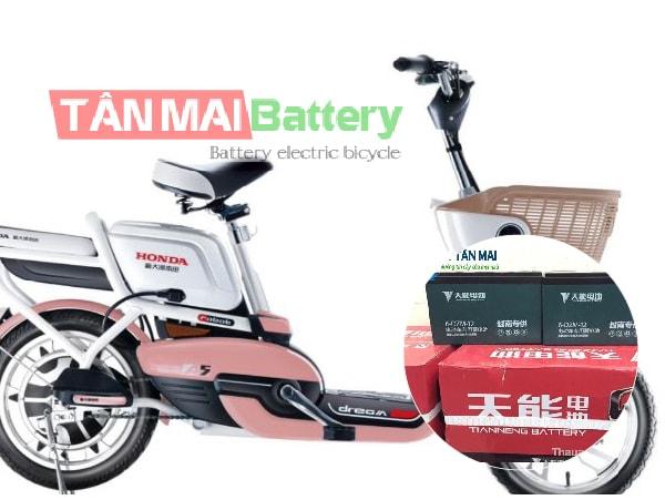 Ắc quy xe đạp điện Honda