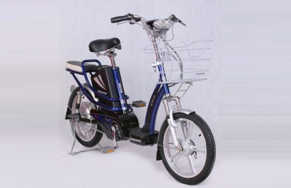 Thay ắc quy xe đạp điện Bridgestone