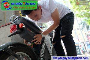 Hướng dẫn sạc xe đạp điện điện Nijia