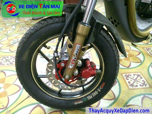 Thay lốp xe đạp điện tại nhà