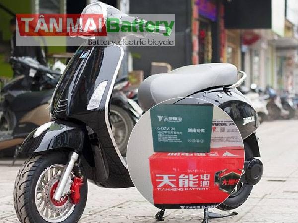 Ắc quy xe đạp điện Vespa