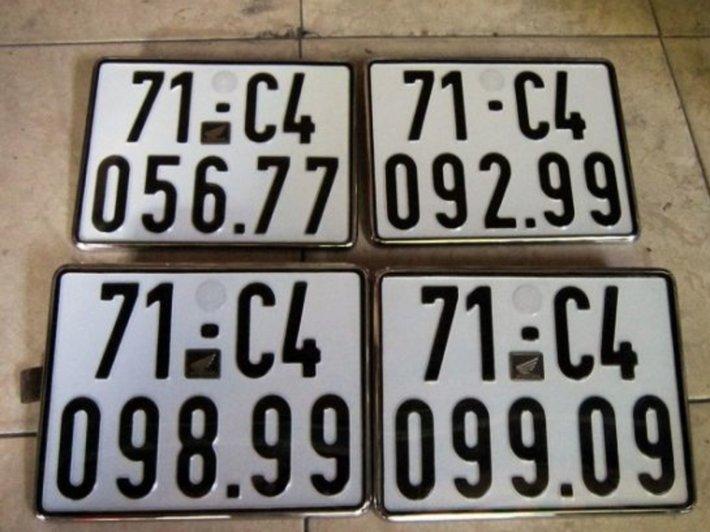 Cách tính nút biển số xe