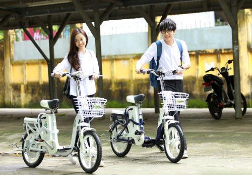 Hướng dẫn đi xe đạp điện, cách đi xe đạp điện