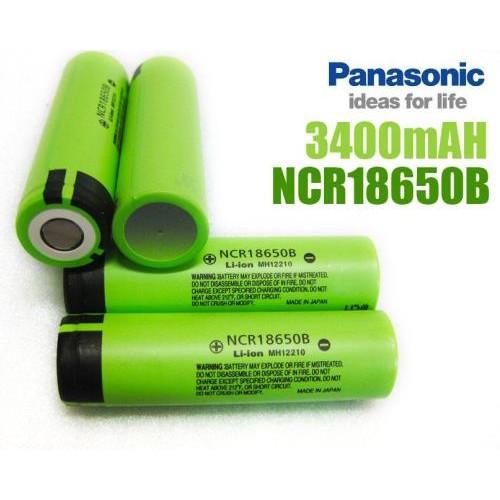 Pin lithium 18650 panasonic