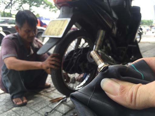 vá lốp xe lưu động Đà Nẵng