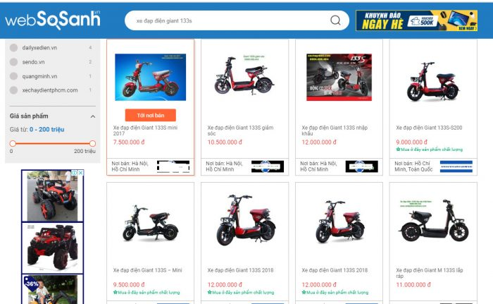 Xe đạp điện 133S giá bao nhiêu