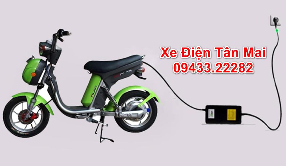 Cách sạc xe đạp điện nhanh đầy