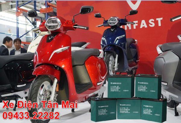 Giá thay ắc quy xe đạp điện tại Hà Nội