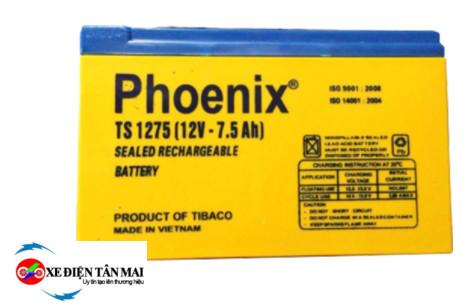Ắc quy phoenix 7ah 12v