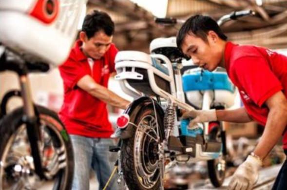Sửa chữa xe đạp điện cầu giấy